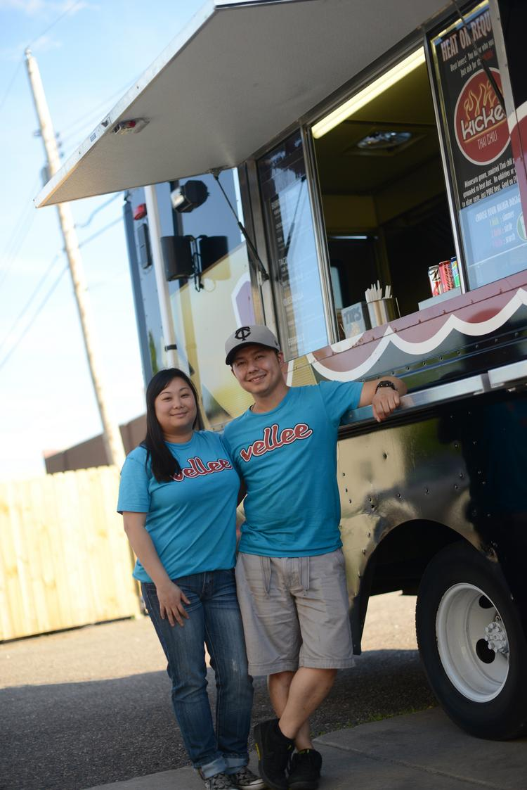 Joyce Truong and William Xiong, Owners, Velee Deli