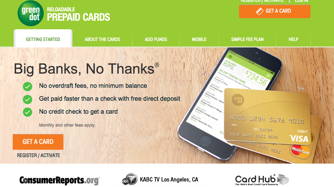 green dot launches moneypak for reloading prepaid cards with cash la biz - How To Put Money On A Prepaid Card