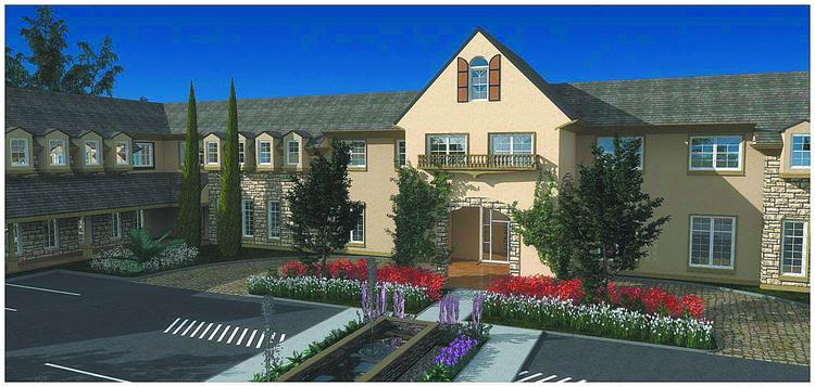 Rendering of Excellence Assisted Living Facility's Lade Lake project.
