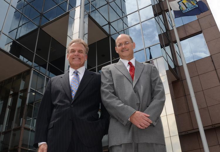 From left: Andy May and Rick Solik of Cushman & Wakefield