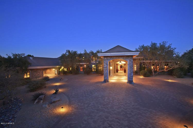 The most expensive home sale the Phoenix Business Journal recorded in June was this nearly 14,000-square-foot Paradise Valley estate that sold for $5.5 million. Click through for more photos.