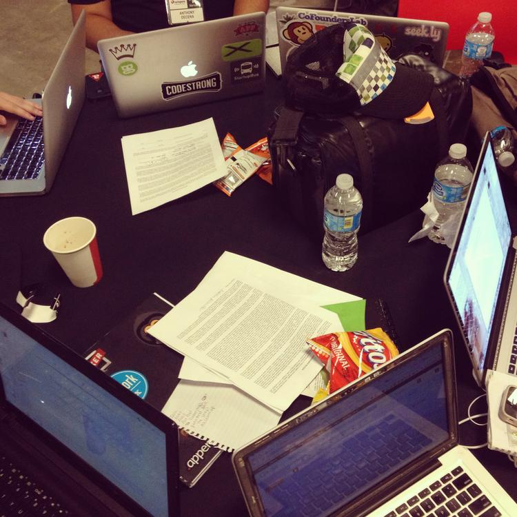 The team's workspace.