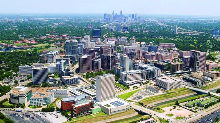 Texas Medical Center in Houston is rapidly expanding.