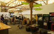 Puppet Labs' emphasizes collaboration with an open office.