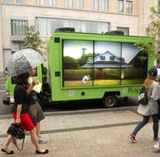The Peapod-branded truck will roam Chicago from July 11 through July 22.