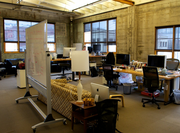 Puppet Labs has more than 40 white boards in its Pearl District offices.