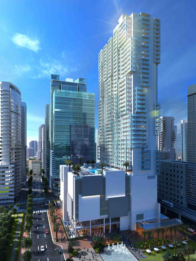 Mdm Breaks Ground On Met Square In Downtown Miami South