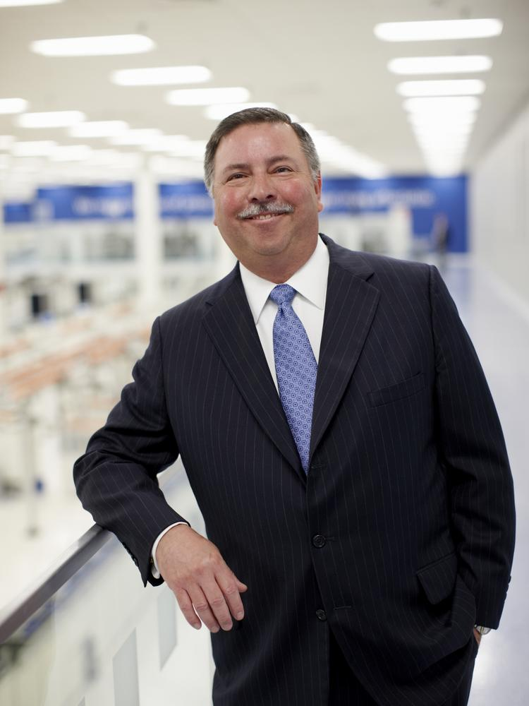 George Paz, chairman and chief executive of Express Scripts Holding Co.