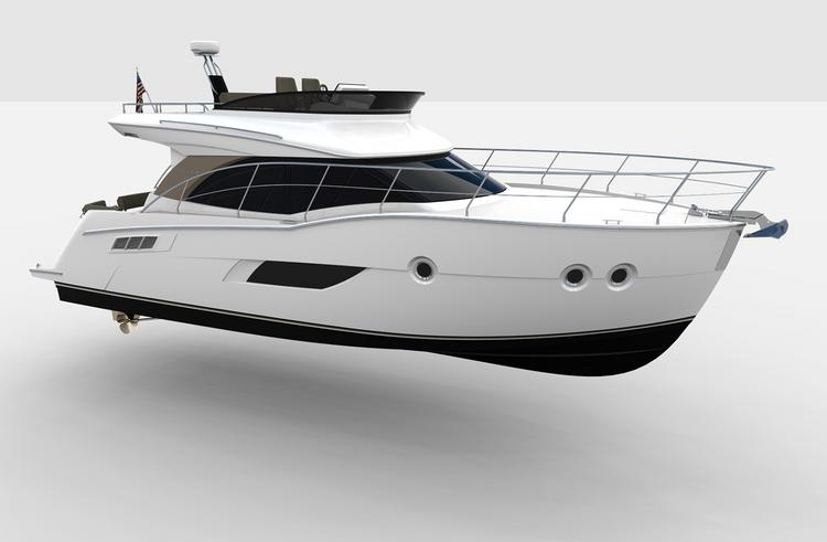 The Carver C40 from Carver Yachts of Pulaski