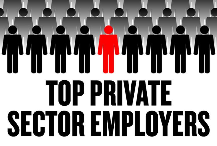 This week's list of the area's private-sector employers provide 71,964 jobs in the four-county  Sacramento region. A slideshow ranks the top 5.