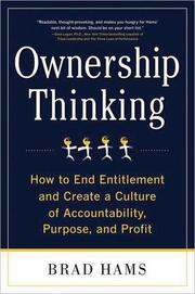 """John Maroon, the president of Columbia-based Maroon PR, read """"Ownership Thinking: How to end entitlement and create a culture of accountability, purpose and profit"""" by Brad Hams. It's """"great for those of us in leadership/ownership positions but also a great read for all employees,"""" Maroon said."""