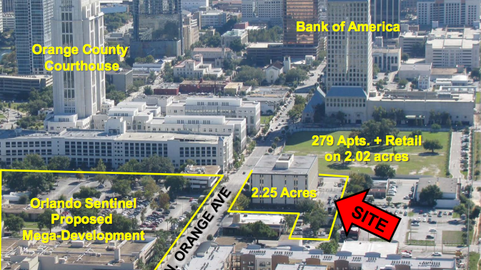New Apartments Planned Near Downtown Orlando Sunrail Station