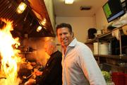 Ciccio Restaurant Group's partner Jeff Gigante with Luis Flores, partner and executive chef, at Ciccio's/Water.