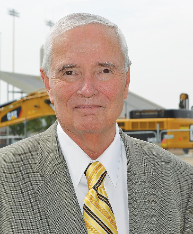 John Bardo began his tenure as Wichita State's president a year ago. He was previously chancellor ofWestern Carolina University, but his resume includes a previous stint at WSU, as a sociology professor.