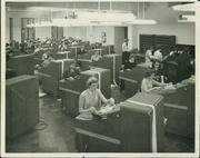 The First National Bank Proof Department at Fourth and Walnut streets in 1954.