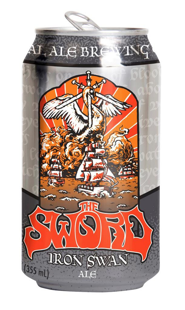 Iron Swan Ale is a new offering from Real Ale Brewing Co. and Austin band The Sword.