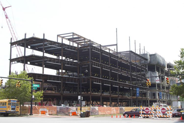 Columbia Gas of Ohio will take nearly all of the latest office building going up in the Arena District when it's finished late next year.