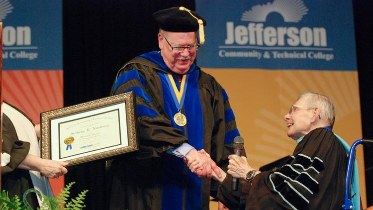 Jctc S Tony Newberry May Be Retiring But He S Not Leaving Education