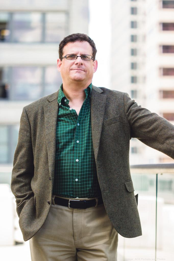 Dan Fischler is trying to create an opening in Kansas City for his company, Digital Strata Inc., in a space that now is crawling with competitors.