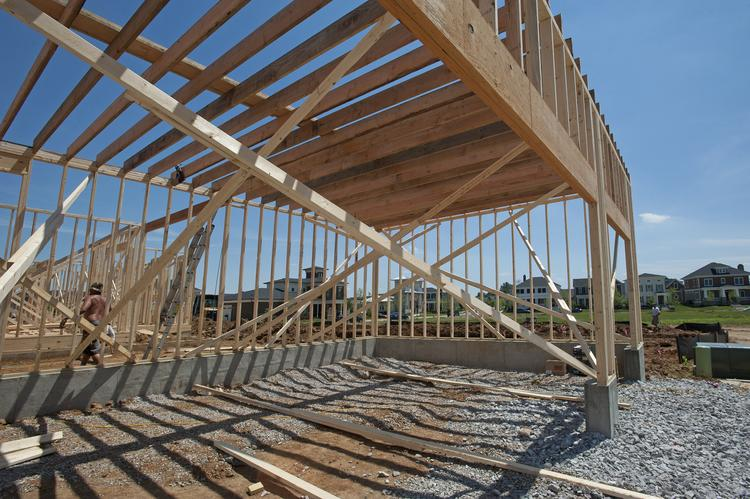 Residential building permits dropped recently but are up year-to-date for the area.