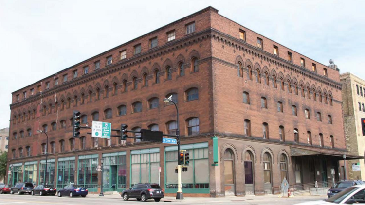 North Loop S Historic Jackson Building To Become Hewing Hotel