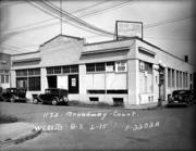 Cliff Moon, one of the owners of the building, said the plan is to return the warehouse to its original look. This photo shows the building in 1937.