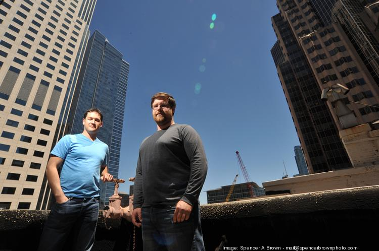 While it won't cite specifics, Life360 now has millions of phones connected to its network and processes 250 million data points a day. Pictured are CEO Chris Hulls (left) and CTO Alex Haro.