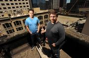 """""""People are realizing all these cases for sharing their location,"""" says CTO Alex Haro (right) with CEO Chris Hulls of Life360."""