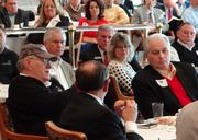 The Business Journal's State of Randolph event drew about 100 people Friday morning.