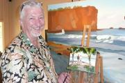 Artist Mike Caroll of the Mike Carroll Gallery.