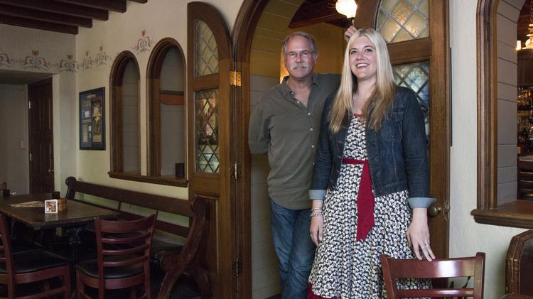 Brian McMenamin and his niece, Shannon McMenamin, are two of the family members who are guiding the expansion of the McMenamins' brewpub, restaurant and hotel empire.