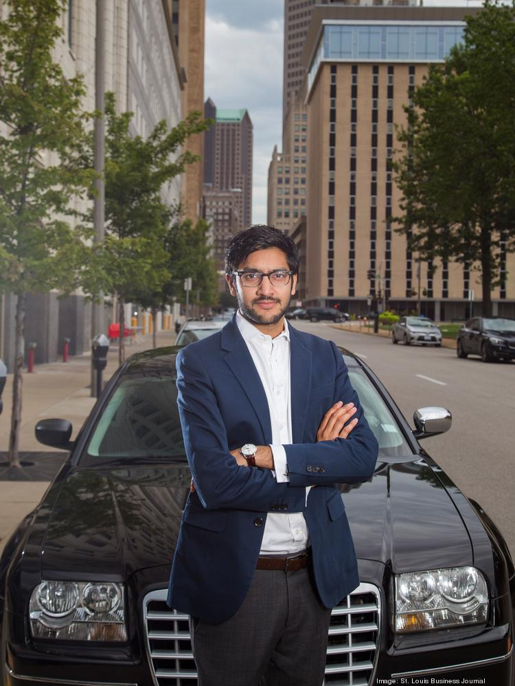 Sagar Shah, general manager of Uber in St. Louis
