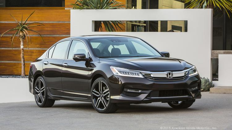 The 2016 Honda Accord