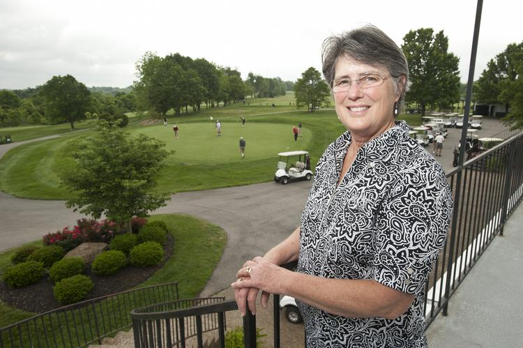 Lawren Just, owner and president of Persimmon Ridge Golf Club, is selling the remaining developed lots near the golf course.