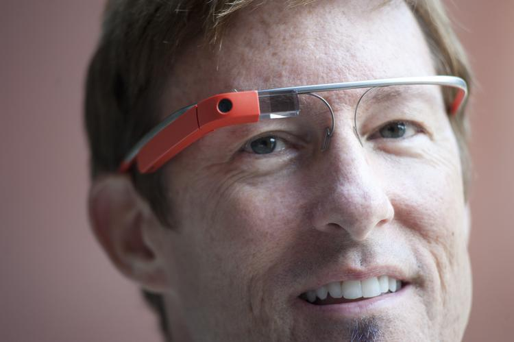 Matt Coddington is one of the few people in Louisville who are using Google Glass.