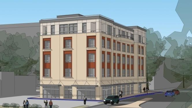 5 story apartment building coming to hillsborough street for Appart hotel quincy