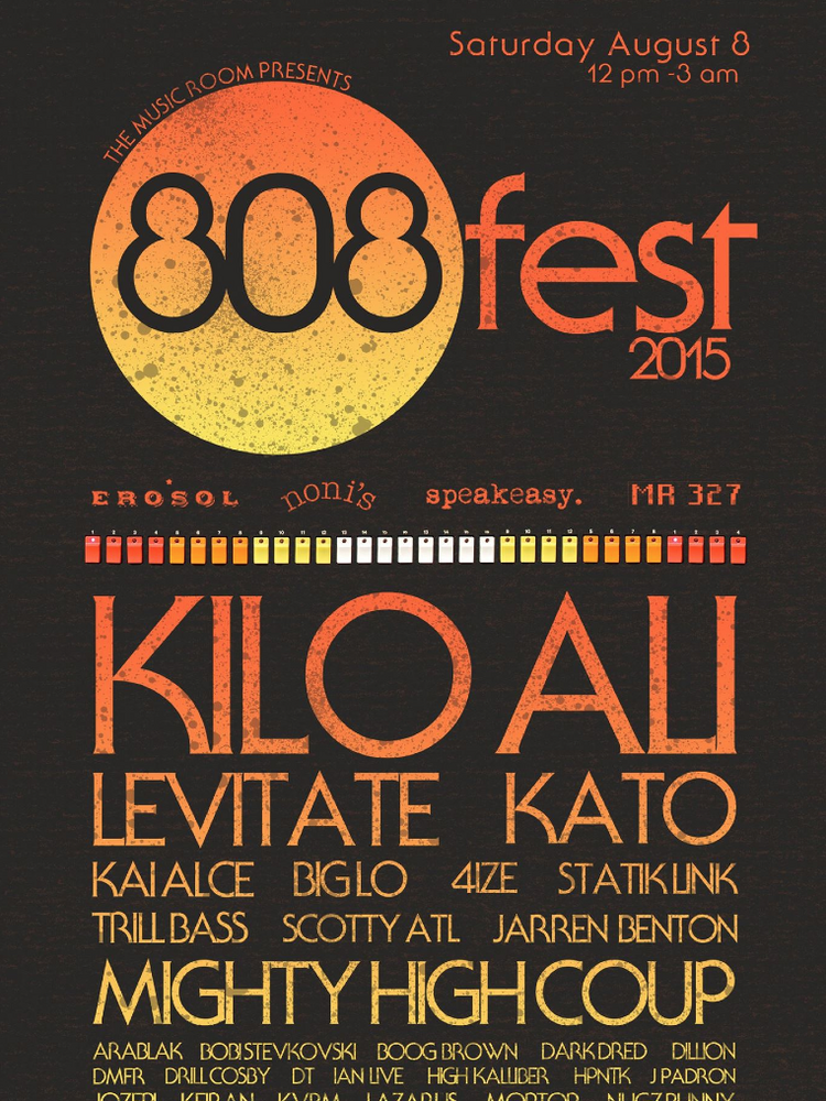 Atlanta's godfather of bass music, Kilo Ali, will headline the fourth annual 808 Fest.