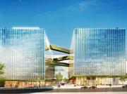 The two wings of Fannie Mae's future headquarters will be linked.