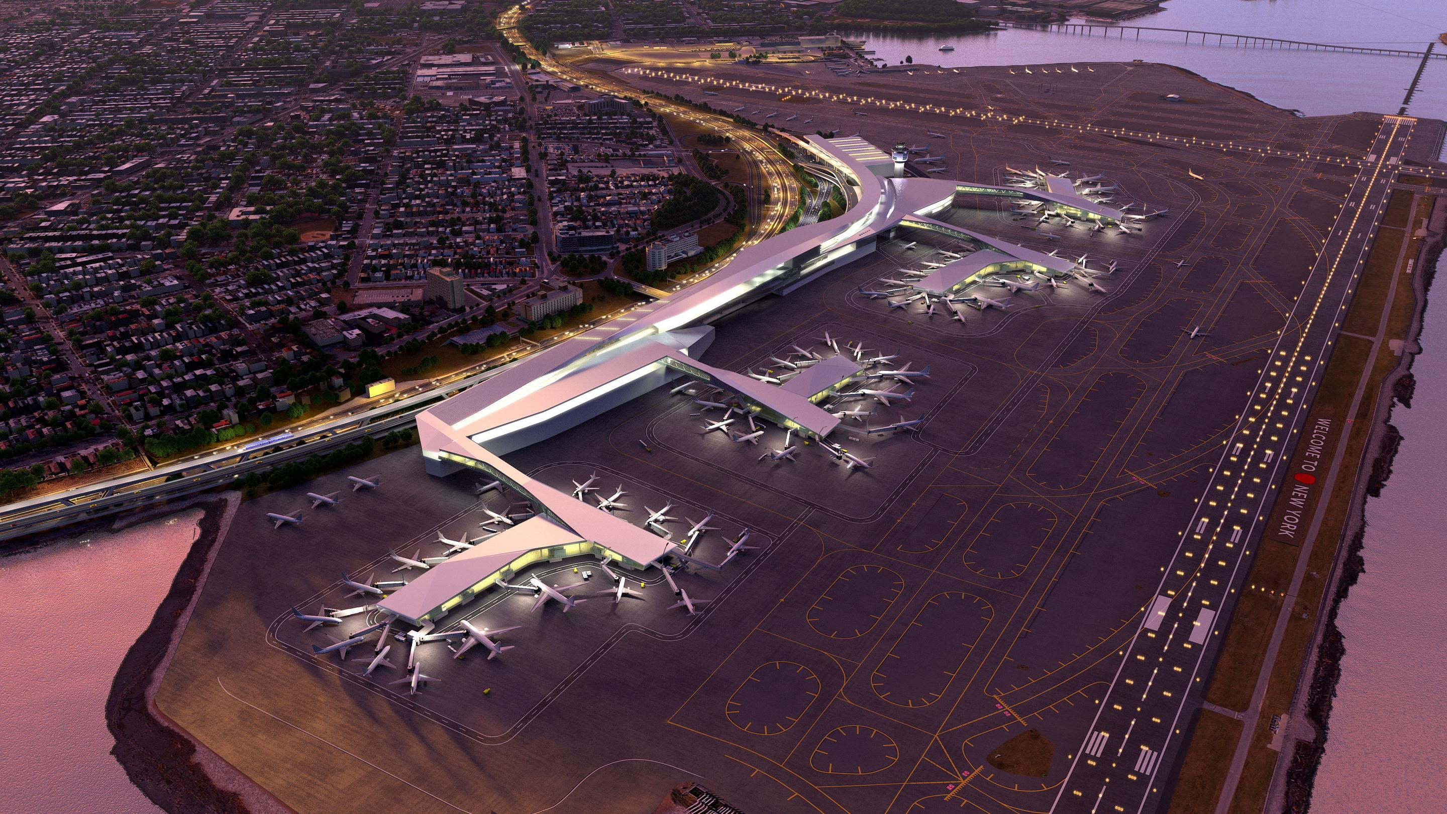 What do you think of the plans to rebuild LaGuardia Airport?