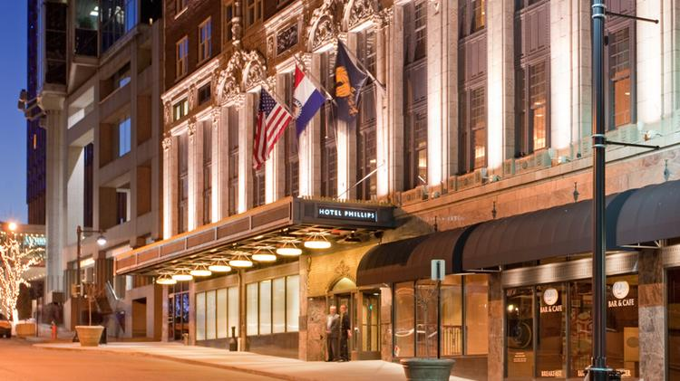 Arbor Lodging Partners The New Owners Of Historic Hotel Phillips Has Partnered With