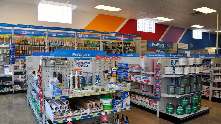 your first look at the ppg paints stores popping up in