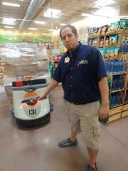 """Sprouts Copperfield store manager Isrrael """"Izzy"""" Anzaldua"""