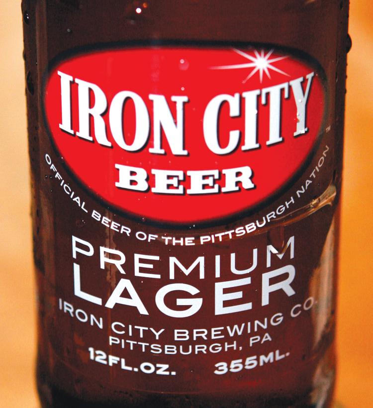 Iron City Beer, which is made by Pittsburgh Brewing Co.