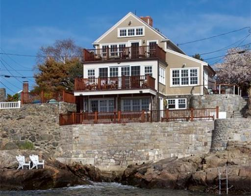 This single-family waterfront home on Goodwins Court in Marblehead has sold for $1.8 million.