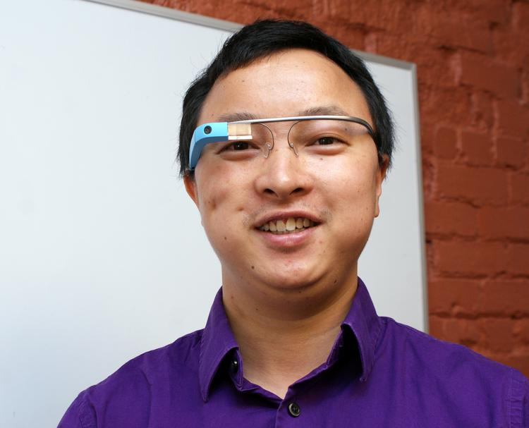 Wichita State University assistant professor Jibo He has been doing research into whether it's safe to drive with Google Glass.