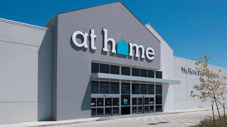 At Home Has More Than 100 Stores Across 28 States.