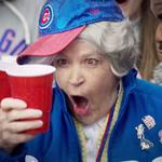 One grandma at Wrigley Field gets real lucky (and very excited) in new Hefty Cup online video