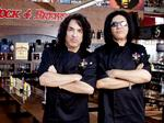 Dallas Rock City? Rock and Brews restaurant by KISS building in The