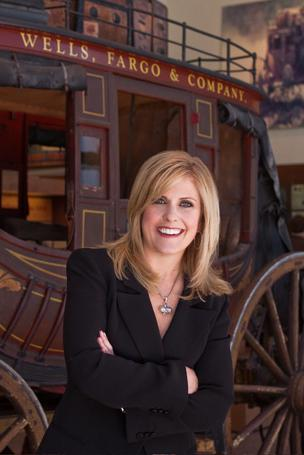 Lisa Stevens, Wells Fargo's lead small business executive and West Coast regional banking executive.