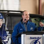 A bittersweet transition for new Tampa Bay Lightning CEO <strong>Steve</strong> <strong>Griggs</strong>